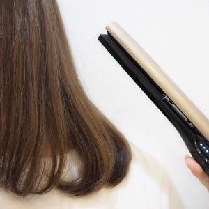 ヘアビューロン 4d Plus ストレート 160度 髪 効果